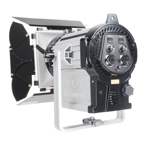 NiceFoto 300W x 3 Bi-Colour LED Fresnel Light X3-3000WS